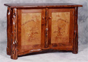 Burl Rodeo Sideboard
