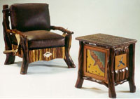 Juniper Ledger Chair and Cabinet