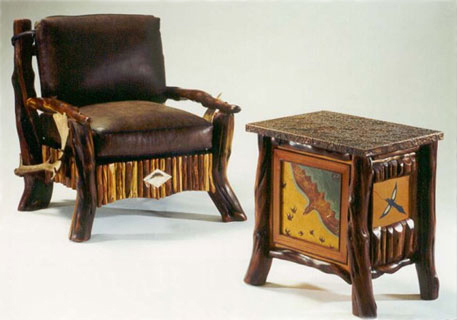 Juniper Ledger Chair & Cabinet