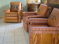 Ledger Molesworth Leather Chairs