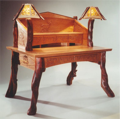 Cherry & Juniper Desk